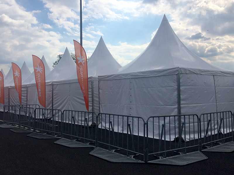 Namioty Tureckie 5x5 m na otwarciu Gemini Park Tychy