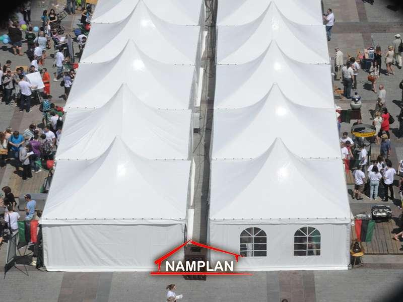 Namioty Tureckie 5x5 m na Festiwalu Nauki w Krakowie