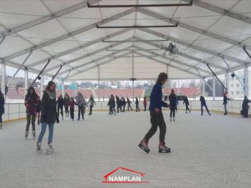 gniezno lodowisko pod hala namiotowa 20x45m
