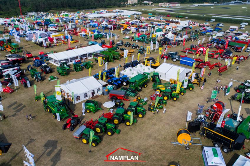 Hale namiotowe firmy NAMPLAN na targach Opolagra 2018